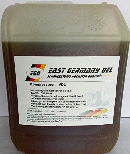Preisvergleich Produktbild Kompressorenöl VDL 100 Kanister 5 Liter