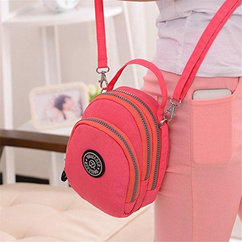 TianHengYi - Borsa a tracolla donna Pink