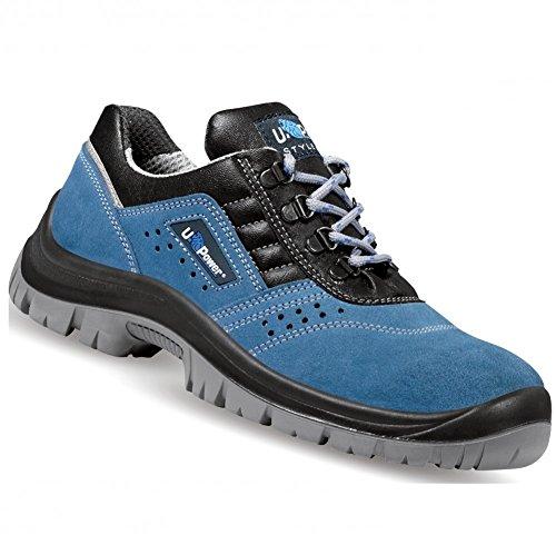Boss Upower, Chaussures De Sécurité Pour Hommes Bleu Bleu Marine