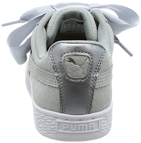 Puma Damen Suede Heart Safari Sneaker Grau (Quarry-Quarry)