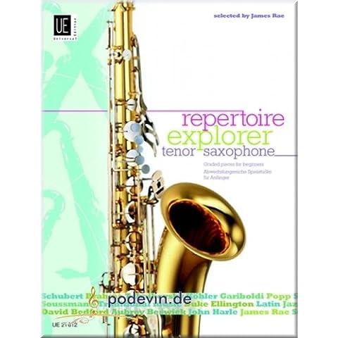 Repertorio Explorer–Tenor Saxophone–Sassofono tenore Francaise