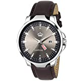 #8: LIMESTONE Magnum Analogue Round Grey Dial Men's Watch - LS2729