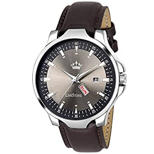 Limestone Day and Date Functioning Magnum Series Analog Watch for Men/Boys – (LS2729)