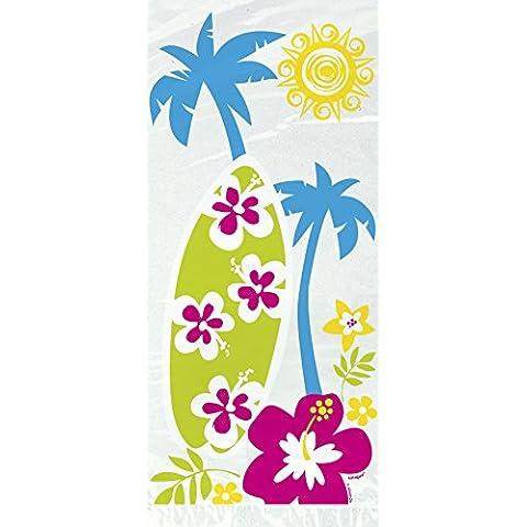 Bolsas de celofán Party Fiesta en la playa de Hawai Única (20) Paquete
