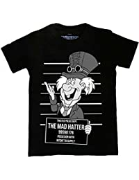 Twisted Punk Disney Alternative Steampunk Mad Hatter Mug Shot Tattoo T Shirt