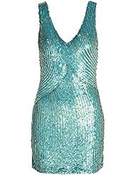 BDBA 188 Dress Mini Turqu, Vestido Para Mujer