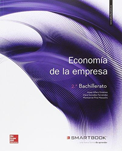 Economía De La Empresa - 2º Bachillerato - 9788448609337