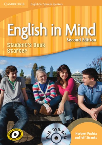 English in Mind for Spanish Speakers Starter  Student's Book with DVD-ROM - 9788483239551