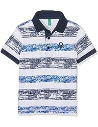 Benetton H/S Shirt, Polo Garçon