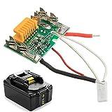 HELEISH Panneau de carte PCB de puce de batterie de rechange 18V pour Makita BL1830...