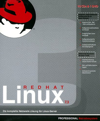Red Hat Linux 7.3 Professional