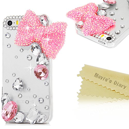 maviss-diary-iphone-se-case-iphone-5s-iphone-5-case-3d-handmade-bling-crystal-lovely-pink-bow-with-w