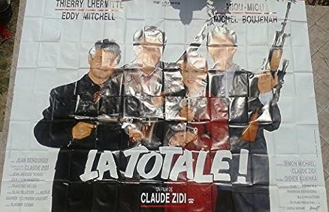 Affiche Cinéma Film 4x3 La Totale Année 1991 Origine Du Film France Réalisateur Claude Zidi Acteurs • Thierry Lhermitte • Miou Miou • Eddy Mitchell • Michel Boujenah Origine De L'affiche