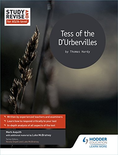 Study and Revise for AS/A-level: Tess of the D'Urbervilles (Study & Revise for As/A-level)