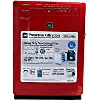 Hitachi EPA6000 Air Purifiers, Red , multicolored, 1 Year Warranty