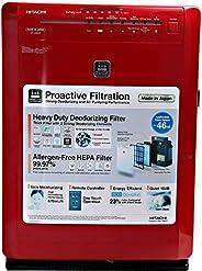 Hitachi EPA6000 Air Purifiers, Red , multicolored