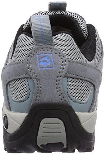 Jack Wolfskin VOJO HIKE LOW W, Chaussures de randonnée femme Grau (air blue 1095)