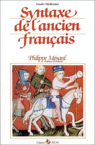 Syntaxe de l'ancien français