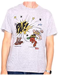 Old Skool Hooligans Mens Asterix T Shirt - Paf! 100% Official