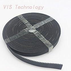Generic 10meter GT2-10mm open timing belt width 10mm GT2 belt GT2 10mm for Mendel Rostock CNC GT2 belt pulley 3D printer