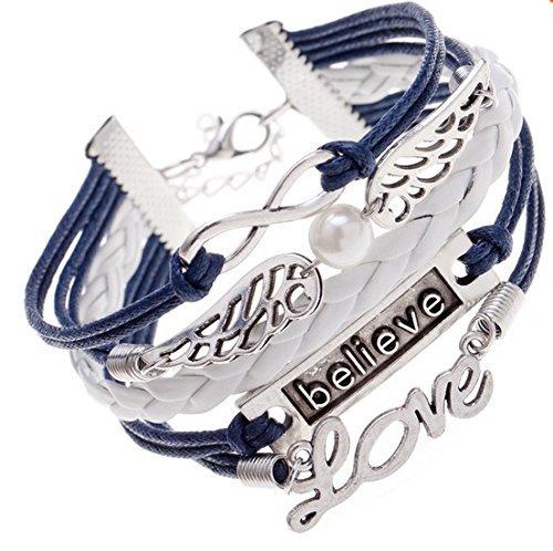 Sorella'z Multicolor Metal Charm Bracelet for Men and Women