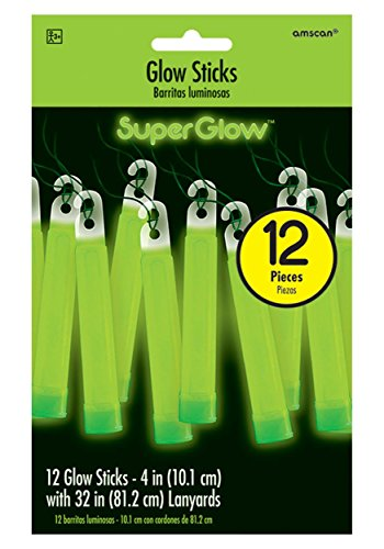 Factory Card and Party Outlet Green Glowsticks - 4