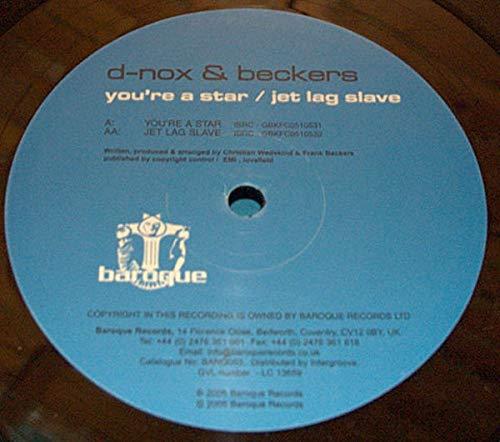 You're A Star / Jet-Lag Slave [Vinyl Single 12'']