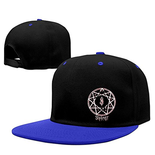 Hittings Slipknot Band Heavy Metal Punk Hip-hop Baseball Hat Royalblue