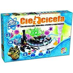 Cefa Toys Disney Ciencicefa 4 en 1 química, cristales, microscopio y minerales 21752