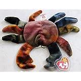 Claude the Crab - McDonald's Ty Teenie Beanie MIP - 1999 #09 [Toy]