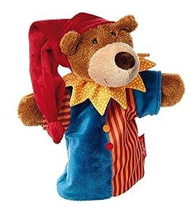 Sigikid, niñas y niños, marioneta Kasper, Sweety, color marrón/multicolor, 41319