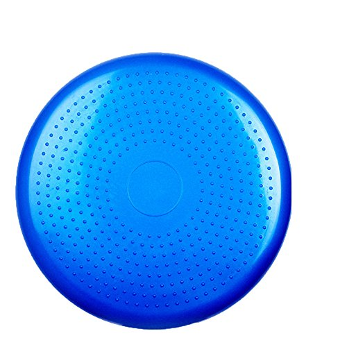 Balanceplatte Yoga Massagekissen Balanceplatte Dicker Explosionssicherer Fitnessball Yoga Ball Massagekissen Yoga Balance-Scheibe Kissen Dicke Explosionssichere Balance Kinder Gleichgewicht Pad,Blue (Waten Korb)