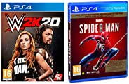 Marvel's Spider Man (PS4) - Game of the Year Edition (PS4)&WWE 2K