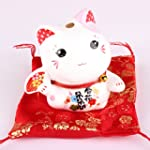 Maneki Neko - petite statue de chat j...