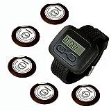 SINGCALL drahtloses Übertragungssystem, Ruf hilfe, Dieser Artikel fasst 1 Armbanduhr(APE6600), 5 Piepser um(APE700)