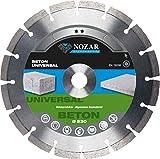 NOZAR Basic Diamantscheibe Beton Universal 125 x 22,23 mm für Betonprodukte und allg. Baumaterial