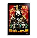 David Lo Pan aus Big Trouble in Little China (1986) - Original Gerahmt Fine Art Malerei, Pop-Art, Poster, Leinwand, Artwork, Film Plakat, Leinwanddruck