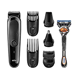 Braun Multi Grooming Kit MGK3060 - 8-in-One Face and Head Trimming Kit