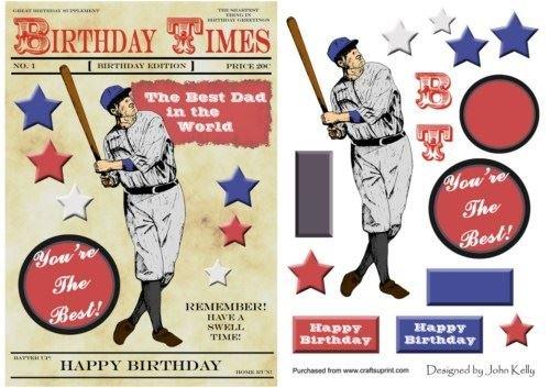 baseball-retro-lecteur-papa-anniversaire-de-a5-par-john-kelly