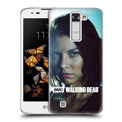 Ufficiale AMC The Walking Dead Maggie Caratteri Cover Retro Rigida per LG K8 / Phoenix 2