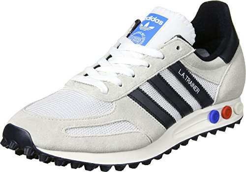 adidas Herren La Trainer Og Sneaker Weiß (Vintage White/Core Black/Clear Brown)