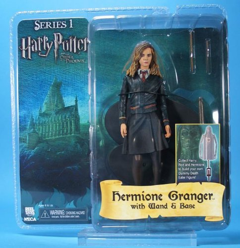 Click for larger image of NECA 'Hermione Granger' Harry Potter And The Order Of The Phoenix Action Figure