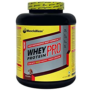 MuscleBlaze Whey Protein Pro with Creapure - 2 kg (Chocolate)