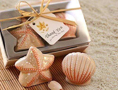 Love Knot Keramik Starfish Shell Salz-und Pfefferstreuer (Shell-salz-und Pfefferstreuer)