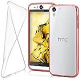 moex HTC Desire Eye | Hülle Silikon Transparent Klar Clear Back-Cover TPU Schutzhülle Dünn Handyhülle für HTC Desire Eye Case Ultra-Slim Silikonhülle Rückseite