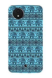 ZAPCASE BACK COVER FOR MICROMAX A1 Multicolor