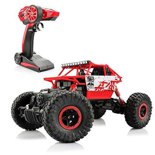 TDW 4WD RC Auto 1/18 Ferngesteuerter Geländewagen 2,4 GHz High Speed Rennwagen für Kinder und Erwachsene