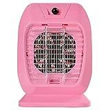 PluieSoleil Zanzariera Elettrica Elettrico 2W Risparmio energetico Non tossico Privo di Radiazioni (rosa)