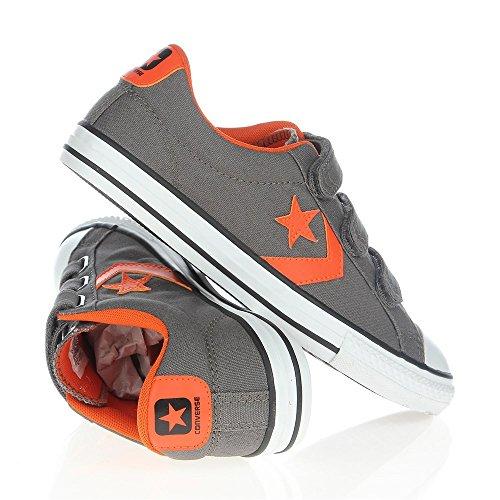 Converse Star Player Ev3, Unisex - Kinder Sneaker Grau