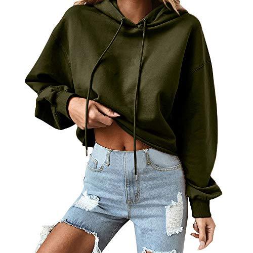 LULIKA Mode DéContractéE Femme Automne Mode Fans Sweats à Capuche à Manches Longues Sweatshirts Femme Mode Loose Patchwork VêTements Hoodies Pull Sweat Capuche Hoody Tee-Sh